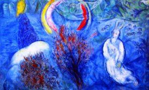 Chagall Brennende Dornbusch