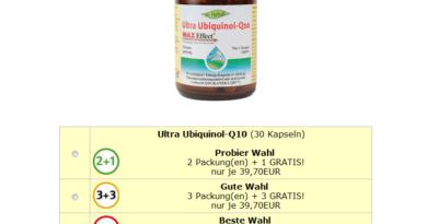 Dr. Hittich Ubiquinol Q-Zehn - weckt selbst tote Herzellen Der Pade