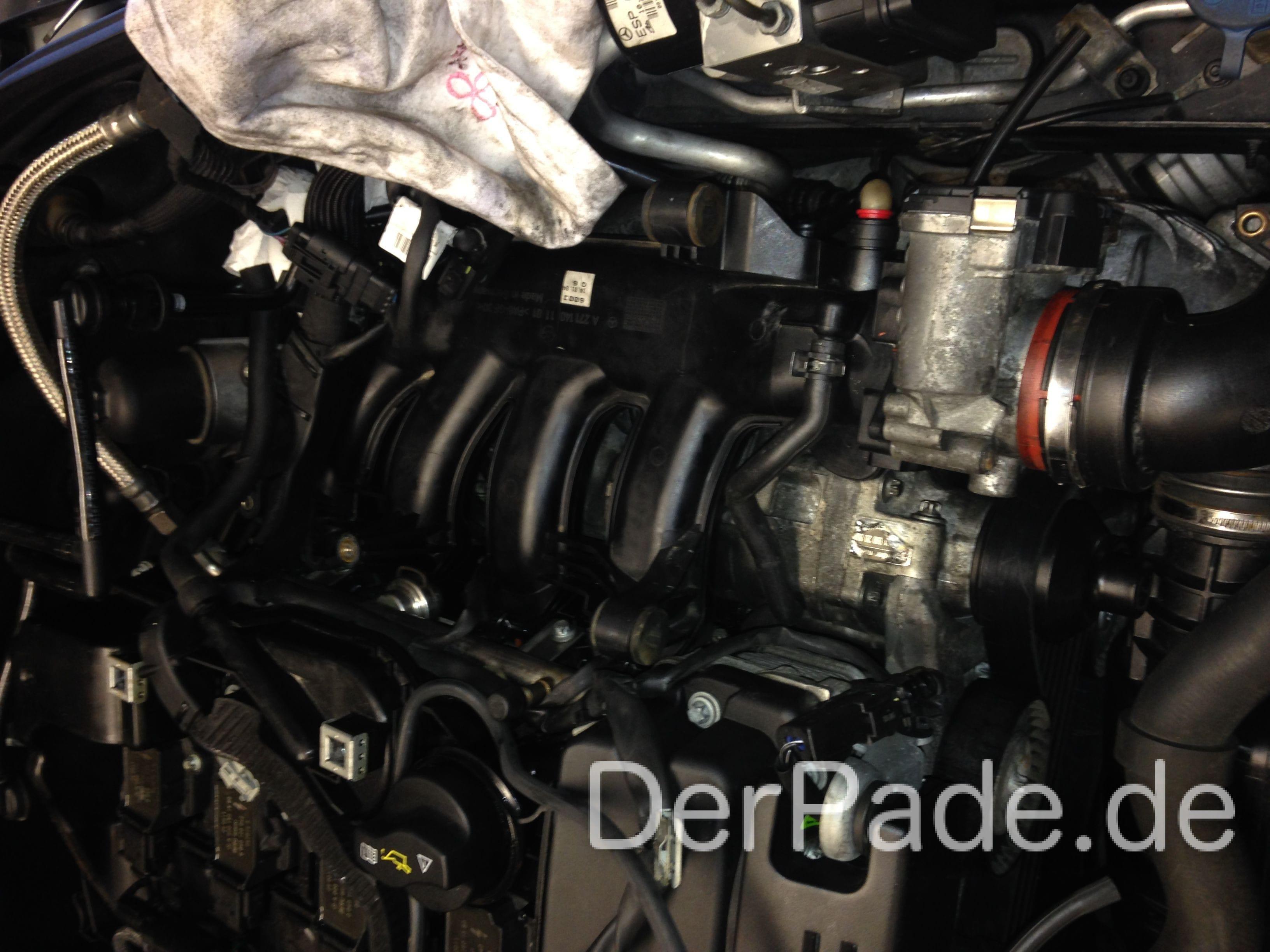 M271 kompressor ausbauen lwechsel und laderradwechsel for A m motors