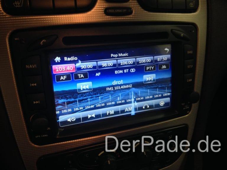 Comand Nachbau Nav-Tech Radio/Navi Navigen MB-12 Erfahrungen Der Pade image 5