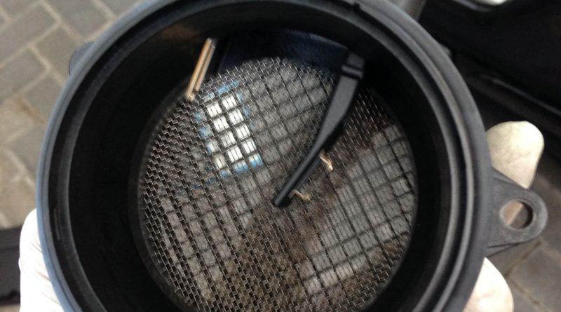 Anleitung: W203 Luftmassenmesser ausbauen beim M271 Der Pade image 6