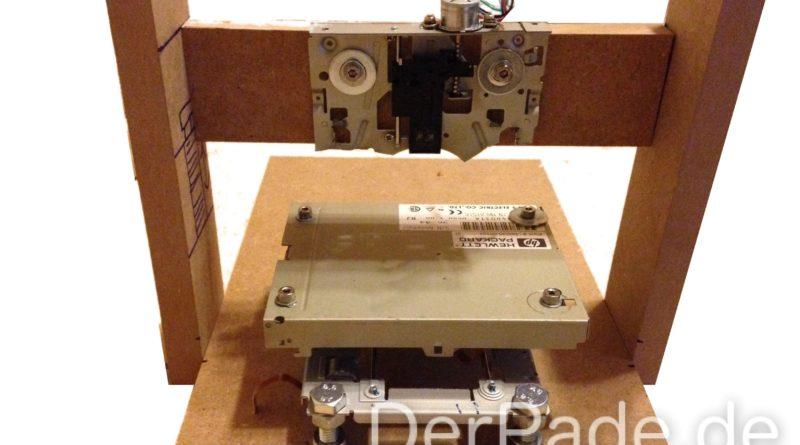 Tutorial 3D Drucker Teil 1: XYZ-Achsen und Gerüst bauen Der Pade image 1