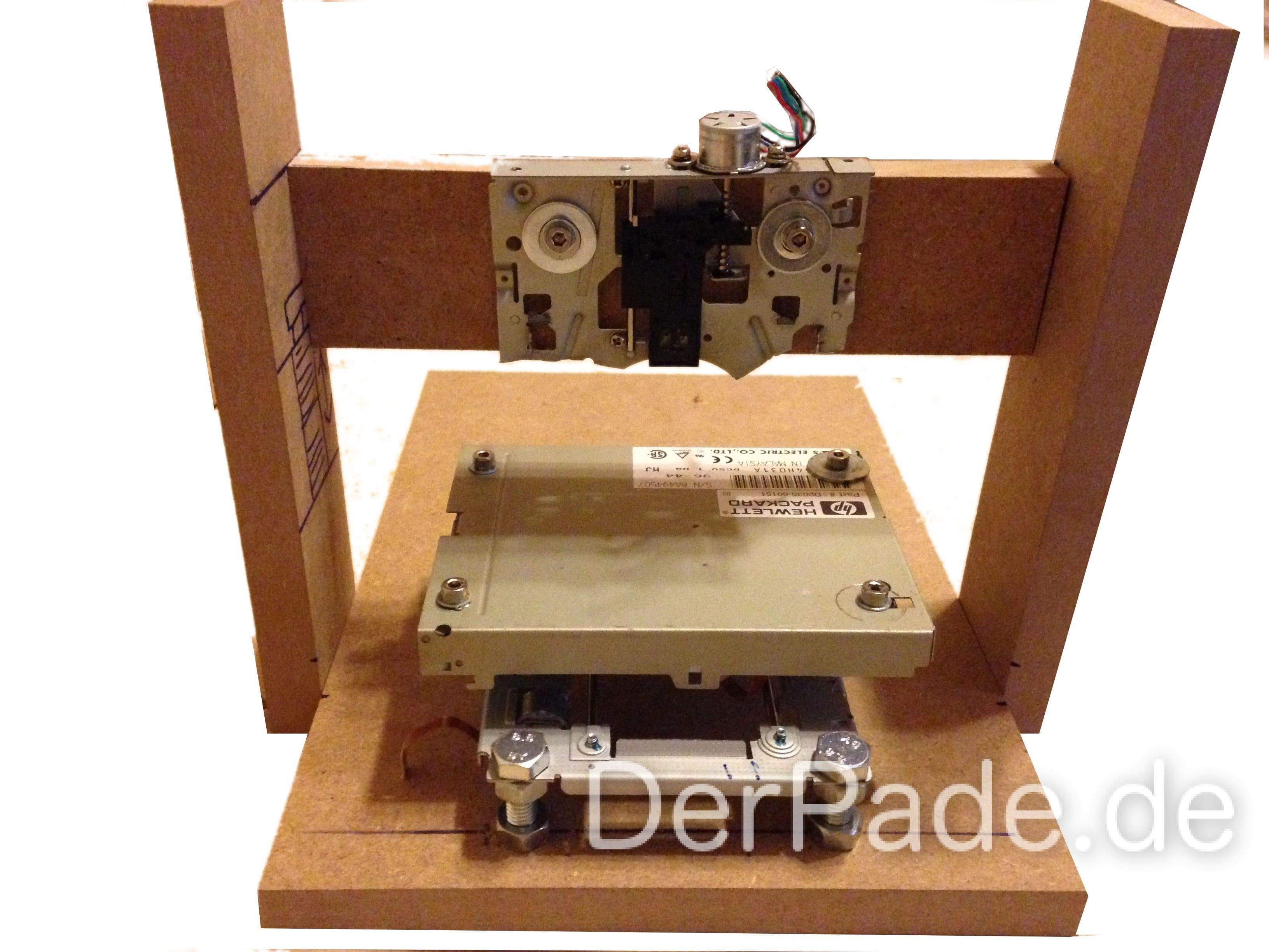 Tutorial 3D Drucker Teil 1: XYZ-Achsen und Gerüst bauen
