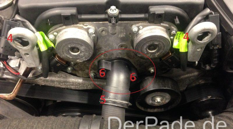 Anleitung: W203 Thermostat wechseln M271 Der Pade image 5