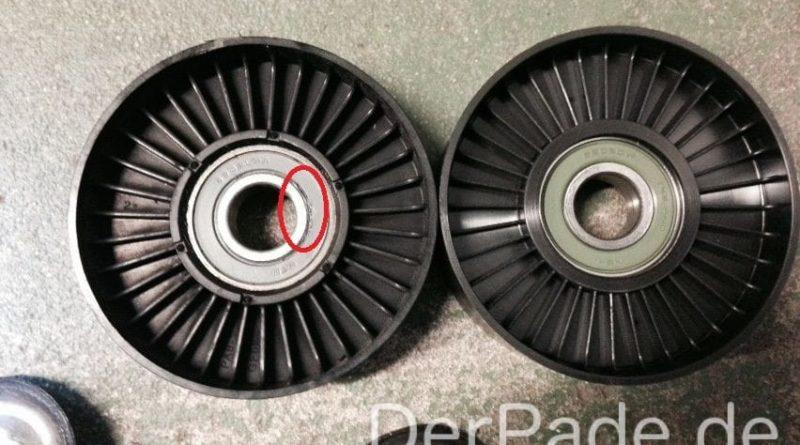 Anleitung: W203 Umlenkrolle M271 wechseln Der Pade image 1