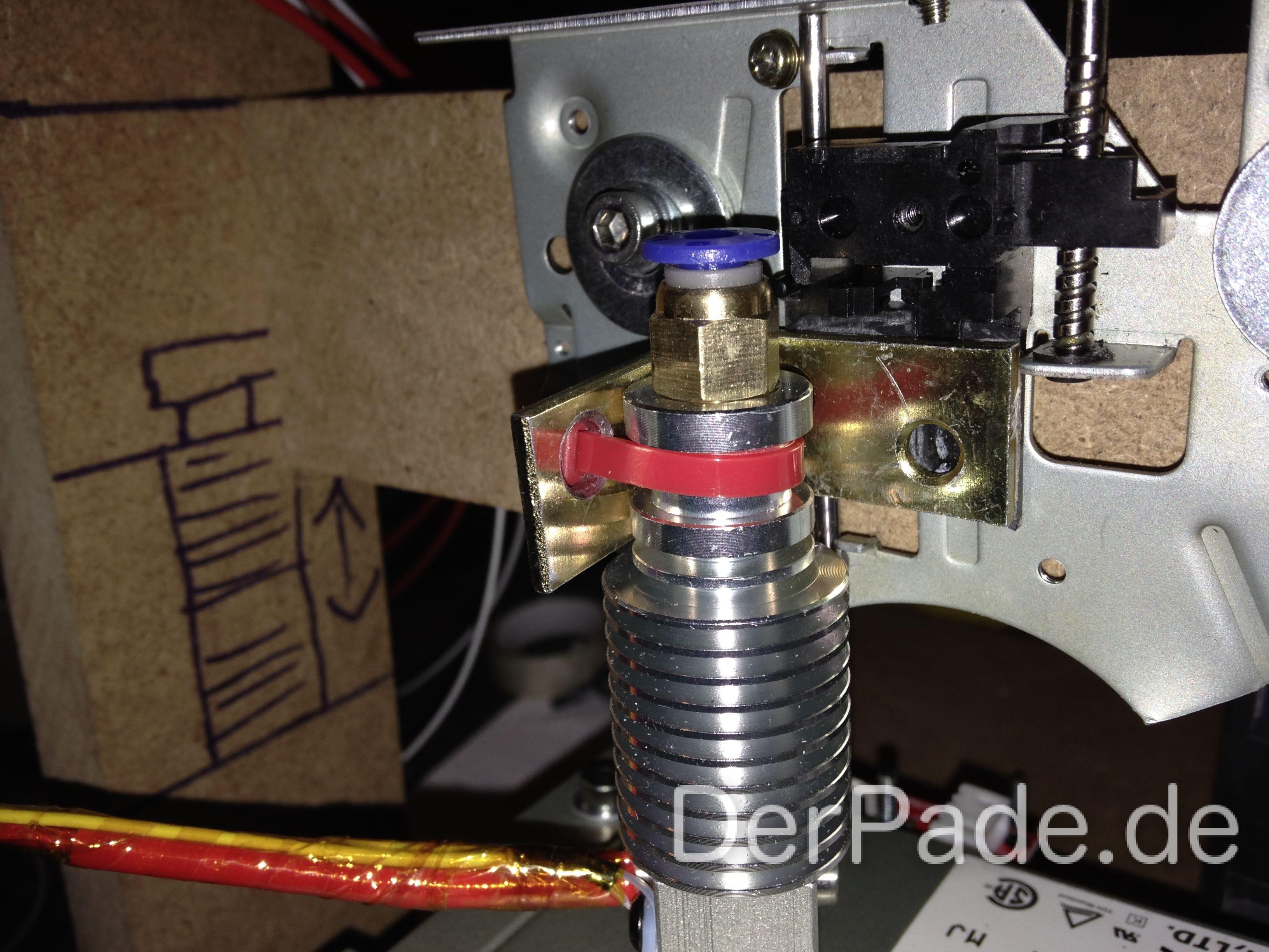 Tutorial 3D Drucker Teil 5: Hotend anbringen Der Pade image 1