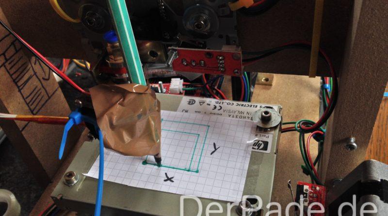 Die ersten Schritte meines DIY 3D Druckers Der Pade