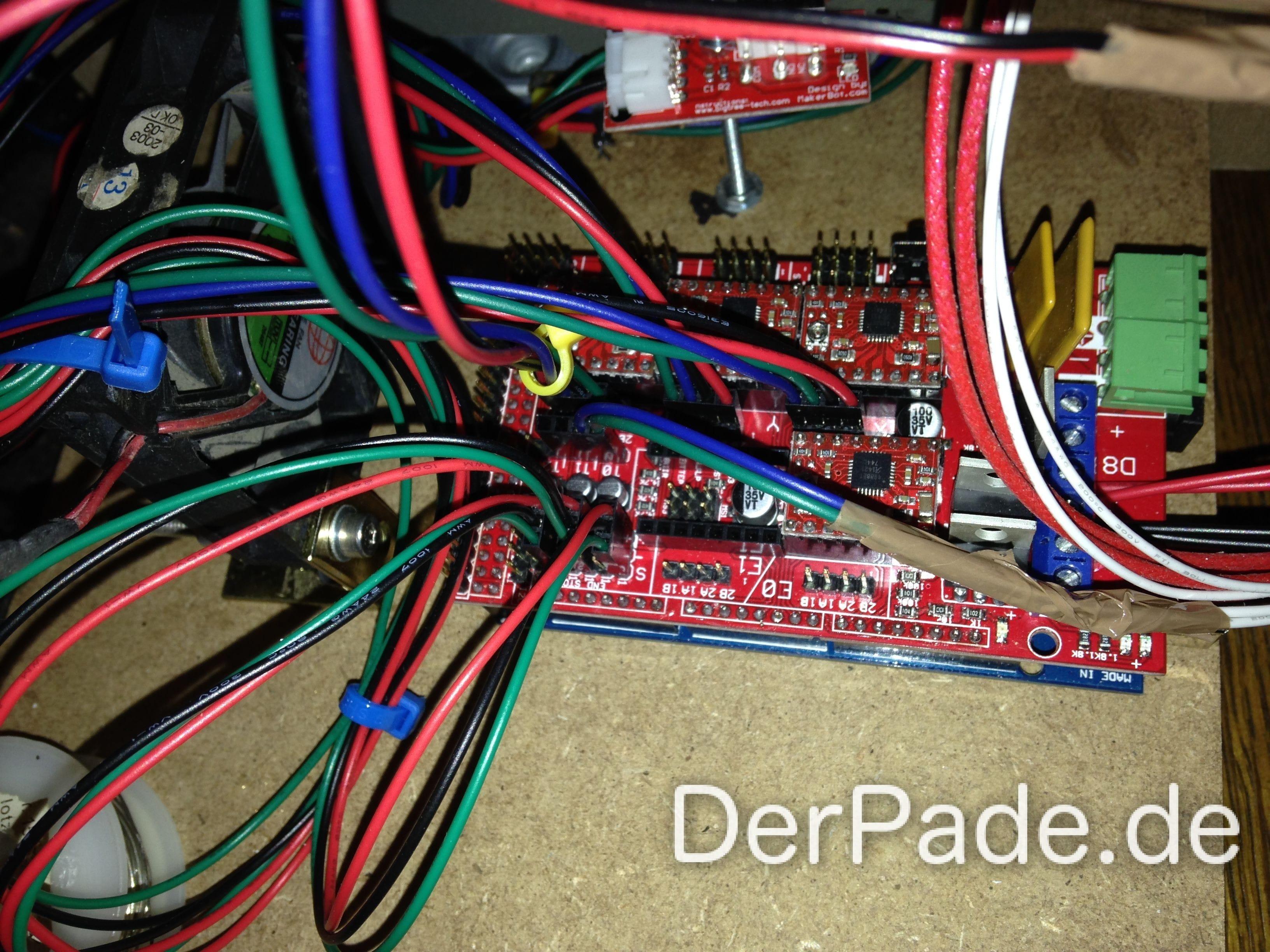 Tutorial 3D Drucker Teil 6: Elektronik und Verkabelung