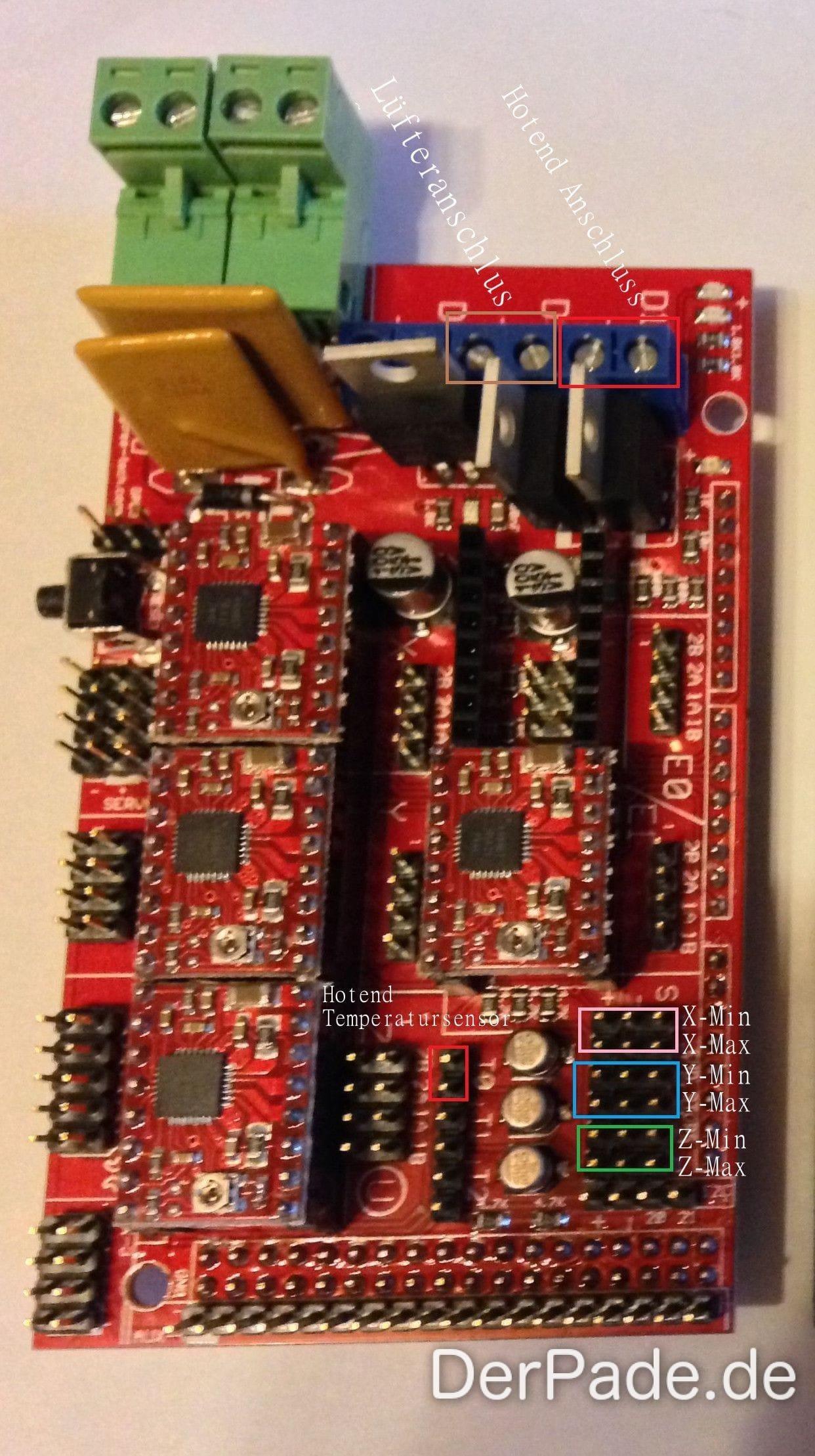 Tutorial 3D Drucker Teil 6: Elektronik und Verkabelung Der Pade image 12