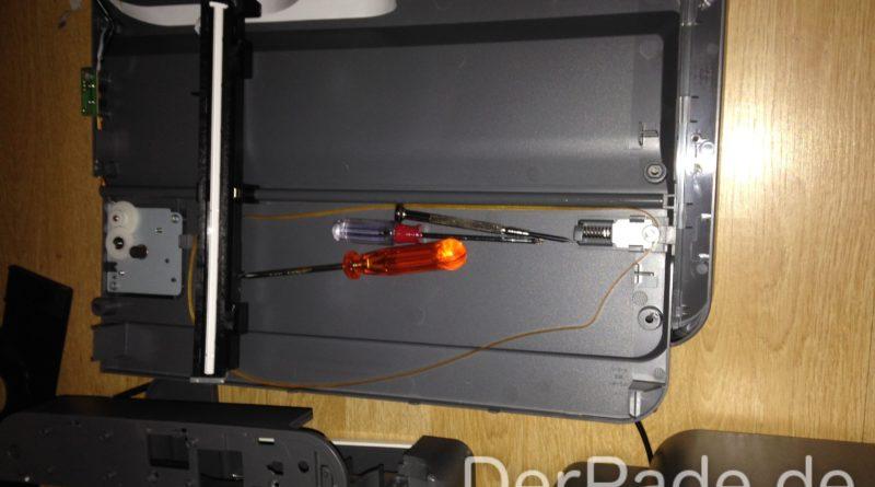 Einen 3D Drucker aus alten Druckern bauen Der Pade image 1