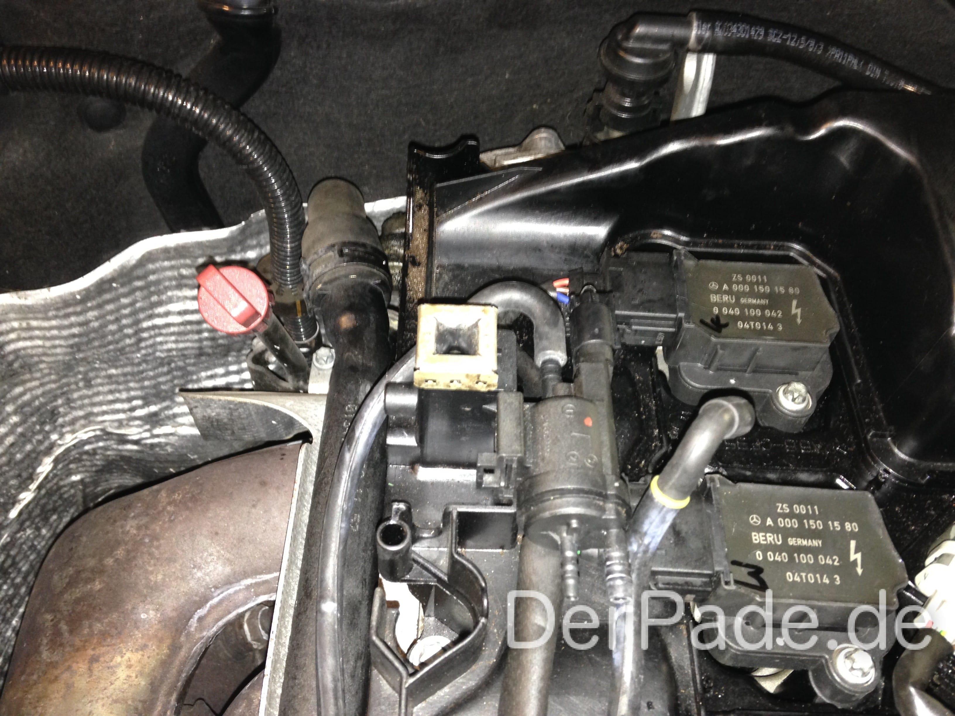 Anleitung w203 steuerzeiten berpr fen m271 c200 for K and w motors
