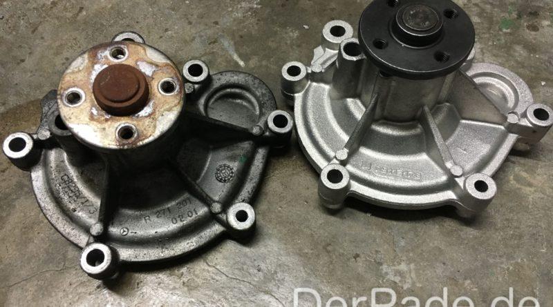 Anleitung: W203 M271 C200 Kompressor Wasserpumpe wechseln Der Pade image 4