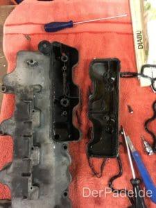 Anleitung: M112 Ventildeckeldichtung wechseln und Ölabscheider abdichten Der Pade image 2