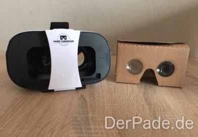 Testbericht: VR-Brille von Magic Cardboard Der Pade image 1