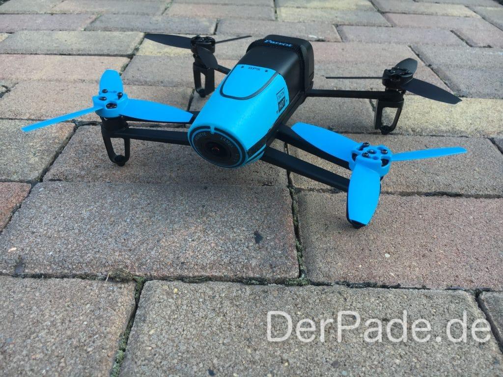 Parrot Bebop 1 Drohne - Frontansicht