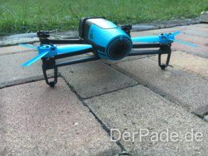 Parrot Bebop 1 Drohne - Frontansicht 2