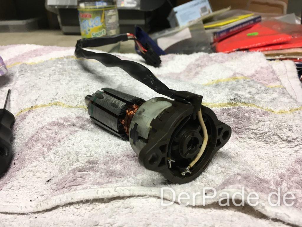 W203 elektrische Sitzverstellung Motor auseinander nehmen