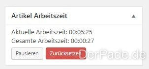 Wordpress Plugin Post Worktime Logger v1.1.0 veröffentlicht