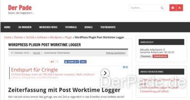 post worktime logger v1.2.3 Frontend Widget min