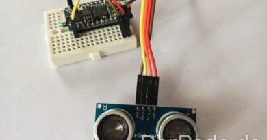 Arduino Cactus Rev 2 Verkabelung eines Ultraschallsensors.