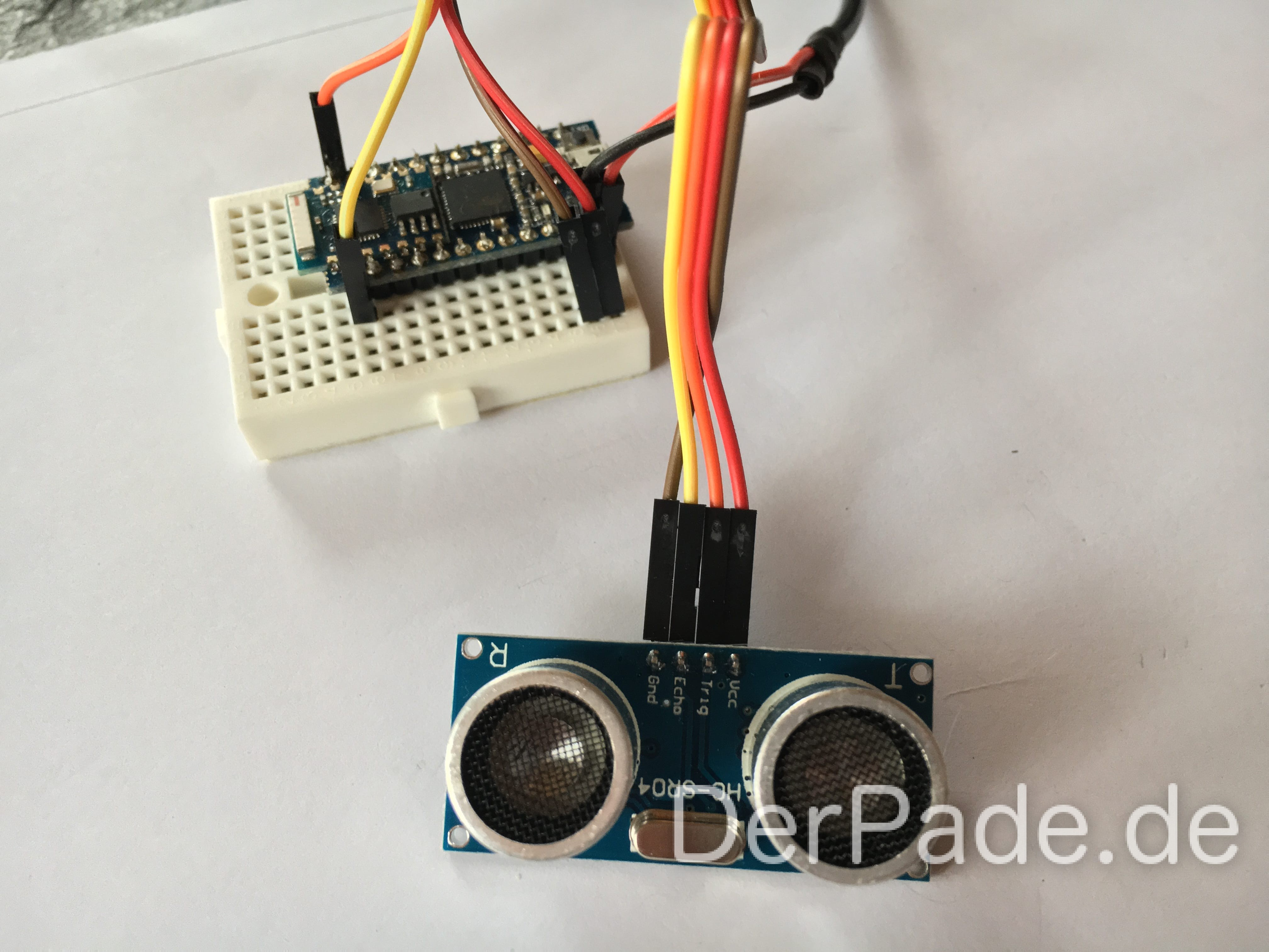 Tutorial: Arduino Cactus Ultraschallsensor