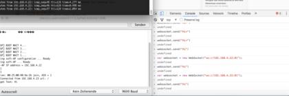 websocket-verbindung-und-nachrichten-senden-an-esp8266