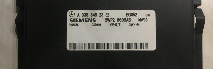 Dieses Steuergerät war ursprünglich in einem W203 C32 AMG verbaut.
