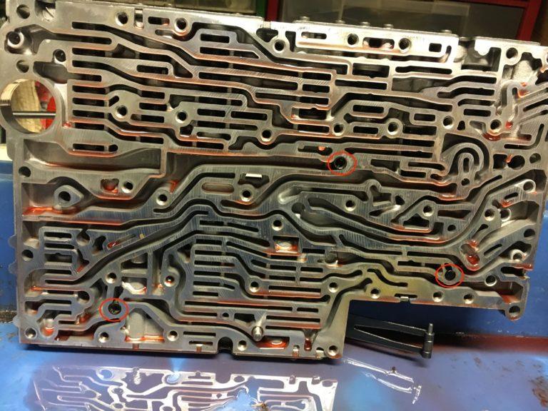 722.6 Automatikgetriebe Schaltschieberkasten - Filter