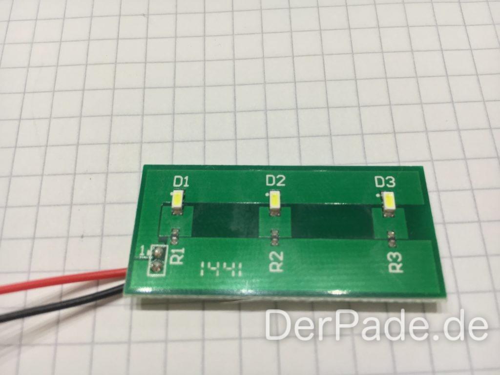 M3D Micro - LED Logo Beleuchtung