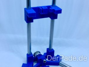 Backpack - Bauanleitung Mechanik - Carriage