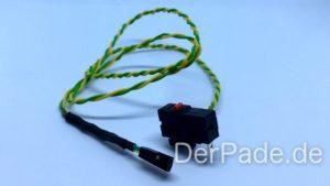 Backpack - Bauanleitung Mechanik - Endstop zusammengebaut