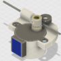 Der Backpack mini Delta 3D Drucker - Extruder 3D Modell V1