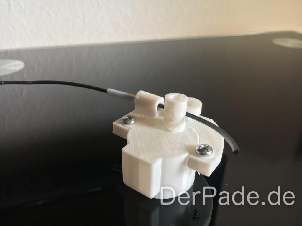 Der Backpack mini Delta 3D Drucker - Extruder ausgedruckt V1