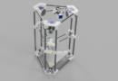 """Der """"Backpack"""" mini Delta 3D Drucker – Gesamtkonzept 3D Modell"""