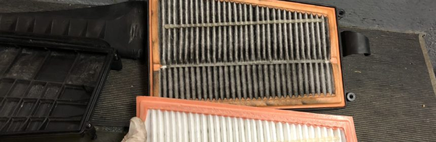 OM642 Luftfilter neu gegen alt