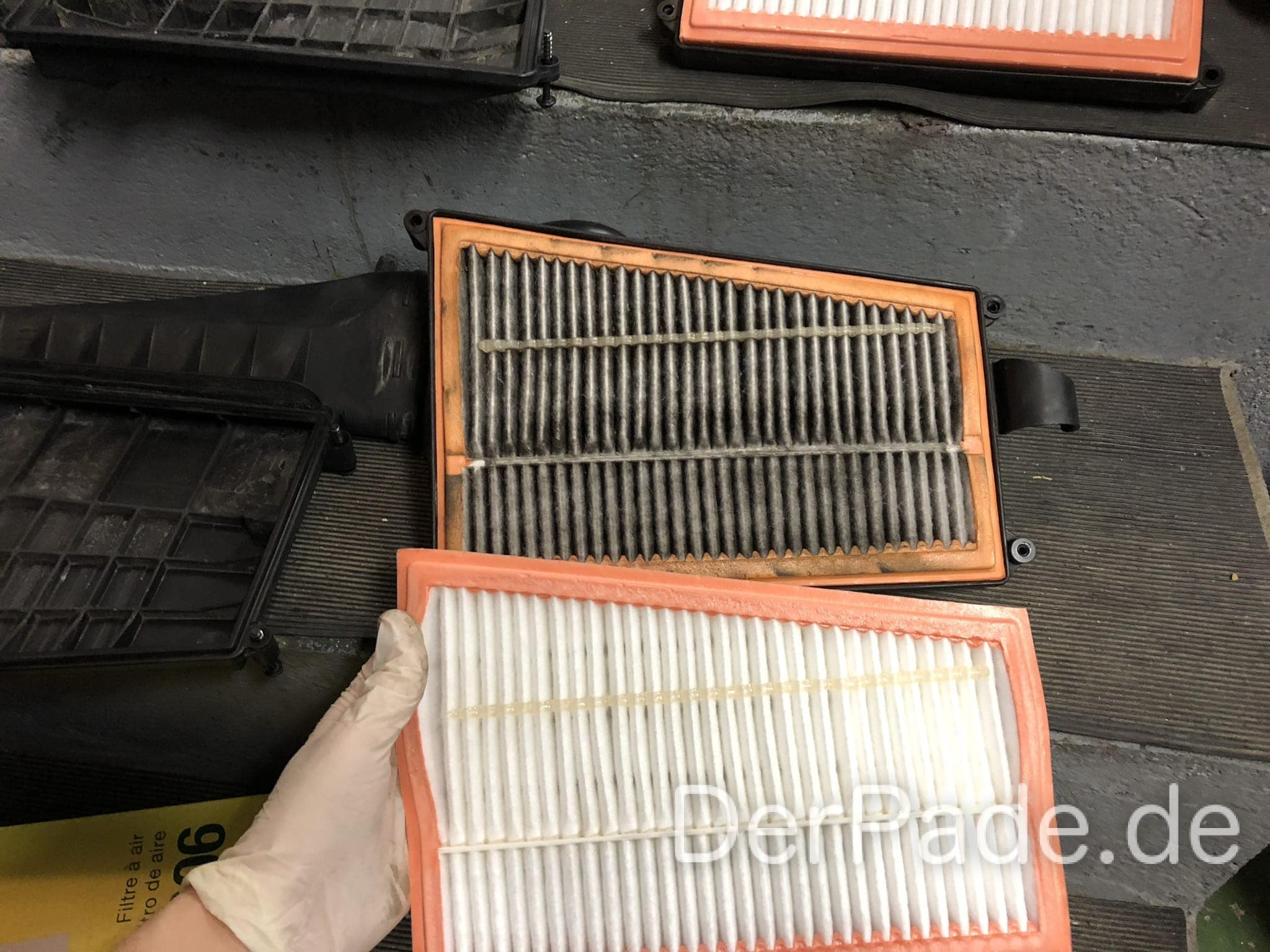 Anleitung: W203 OM642 Luftfilter wechseln