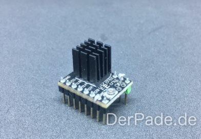 TMC2100 VRef Schrittmotor Treiber Stromstärke einstellen